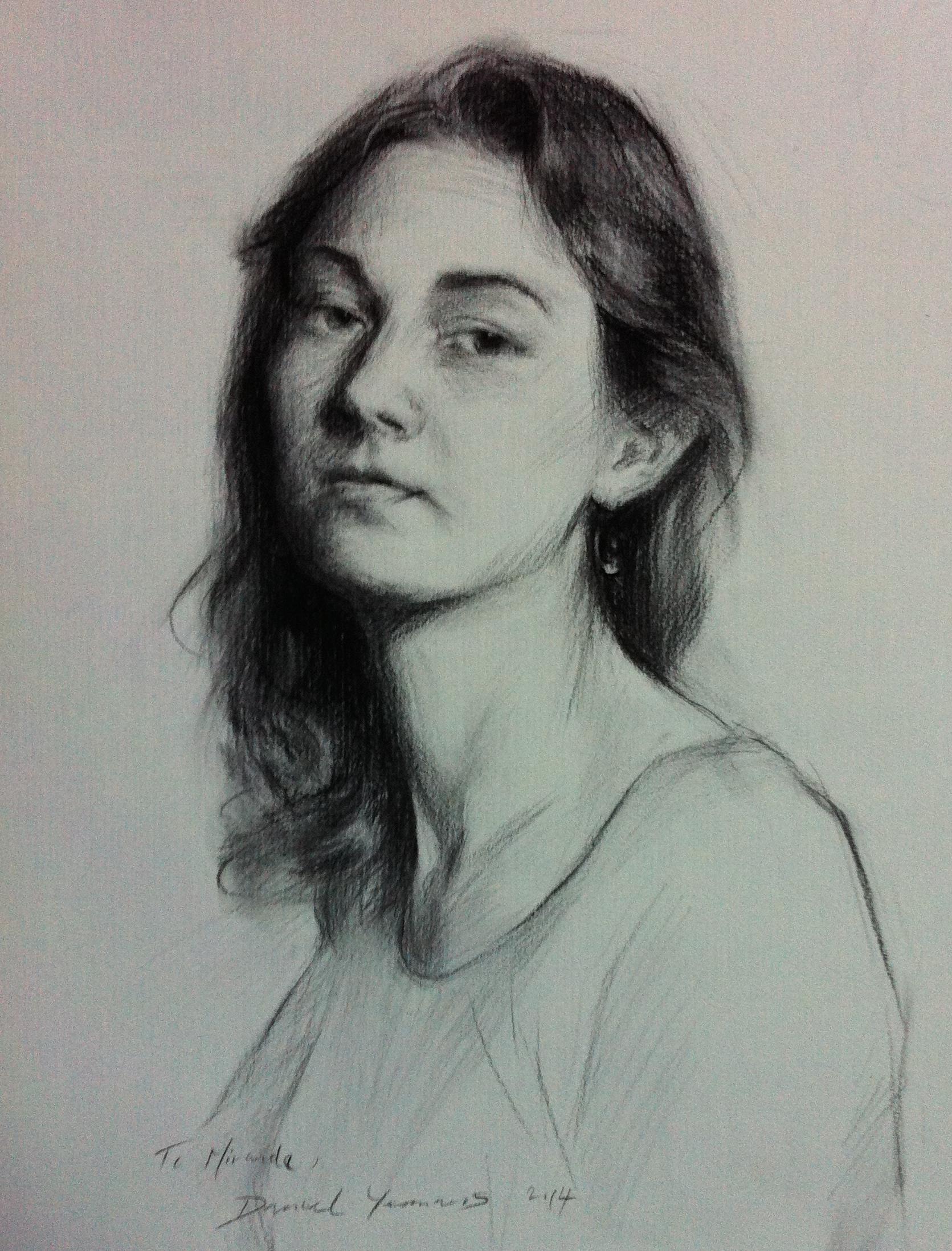 Portrait of Miranda