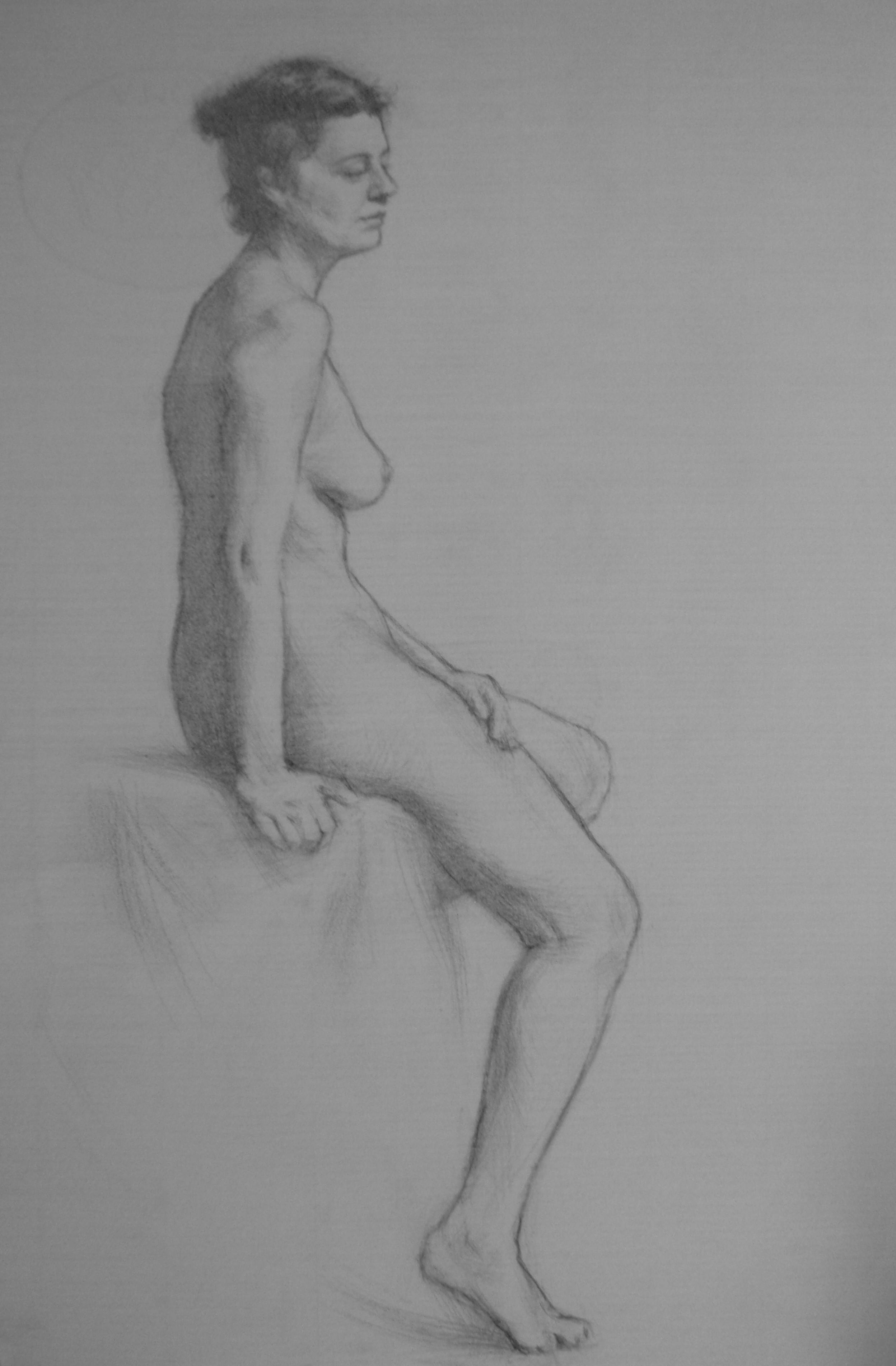 Pencil study - Myriam