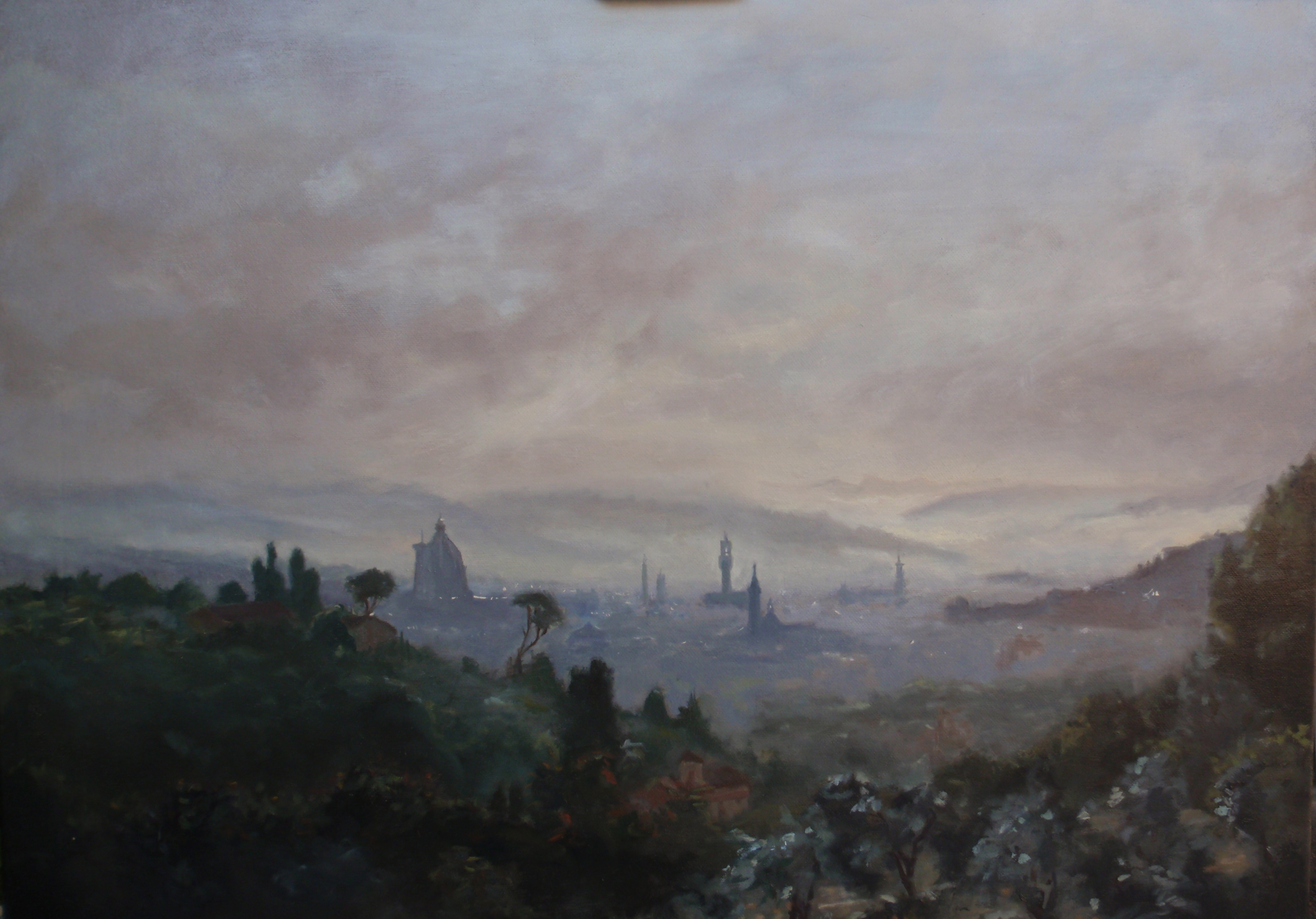 Florence - Sunrise in the mist