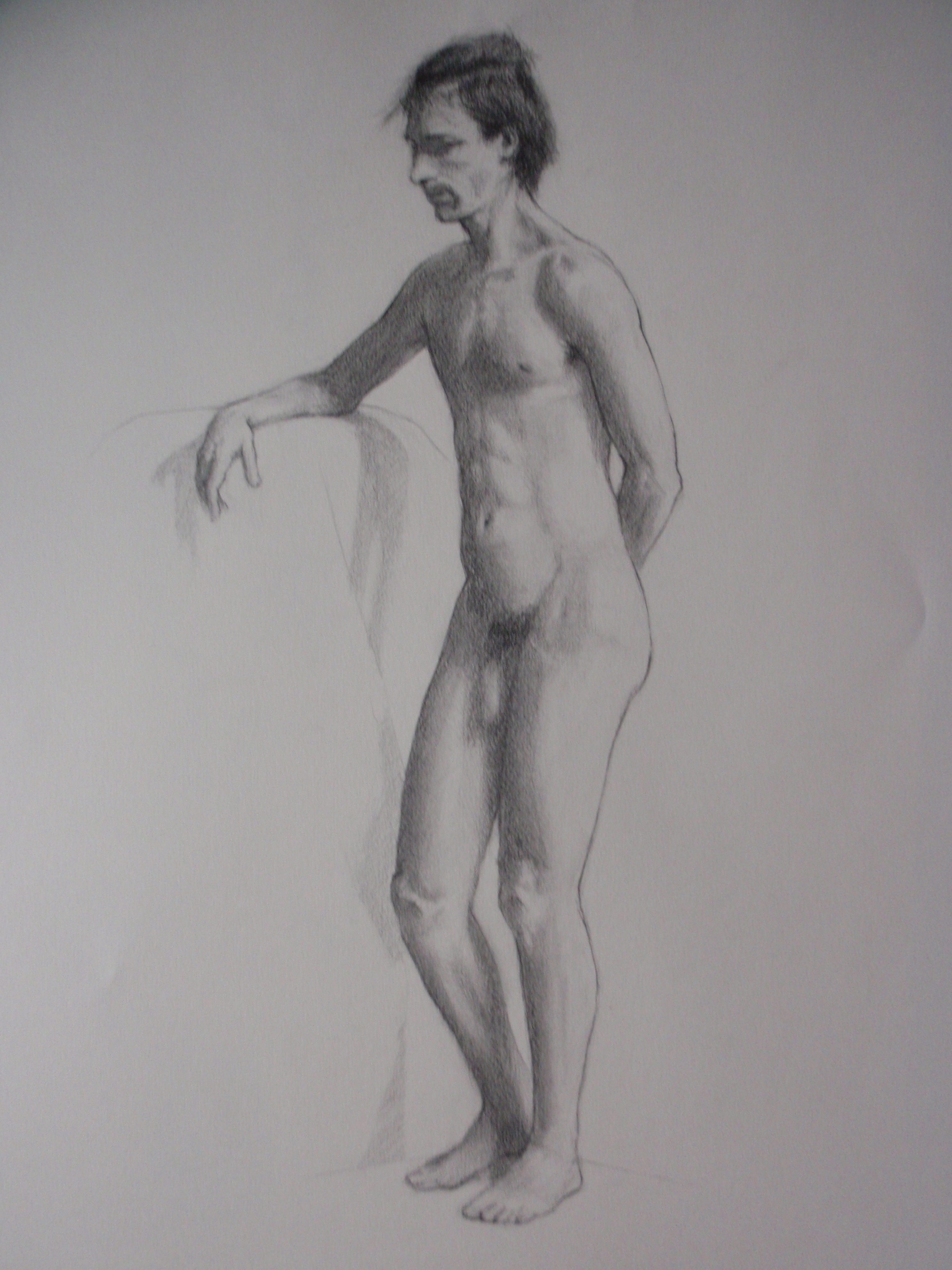 Paolo - Pencil study